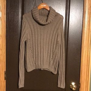 Charlotte Russe Cowl-neck Sweater
